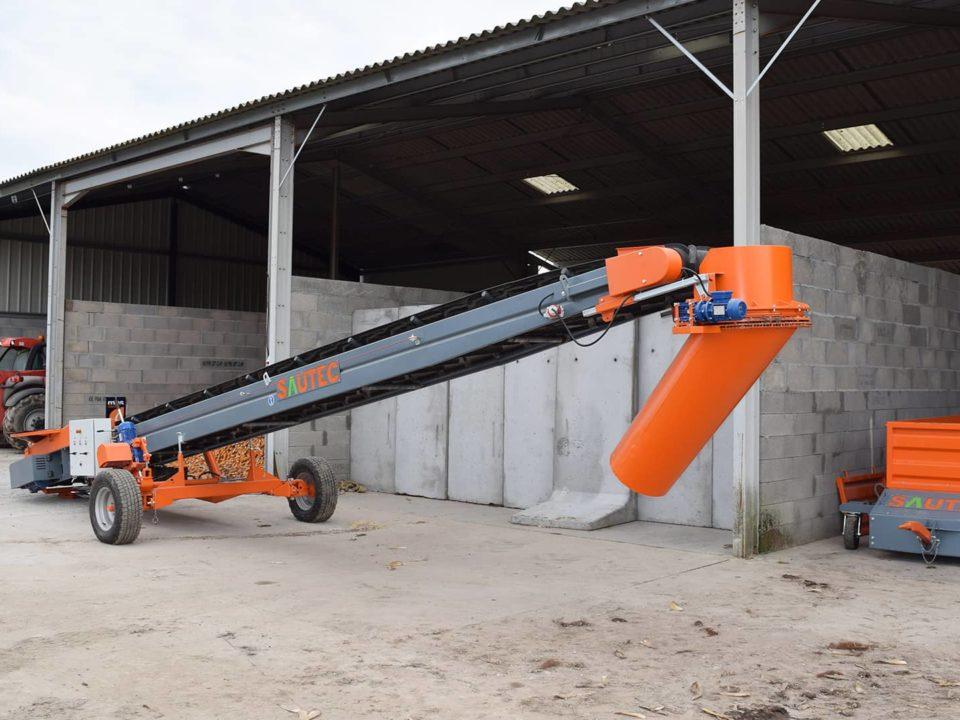 Sauterelle céréales - convoyeur agricole sautec