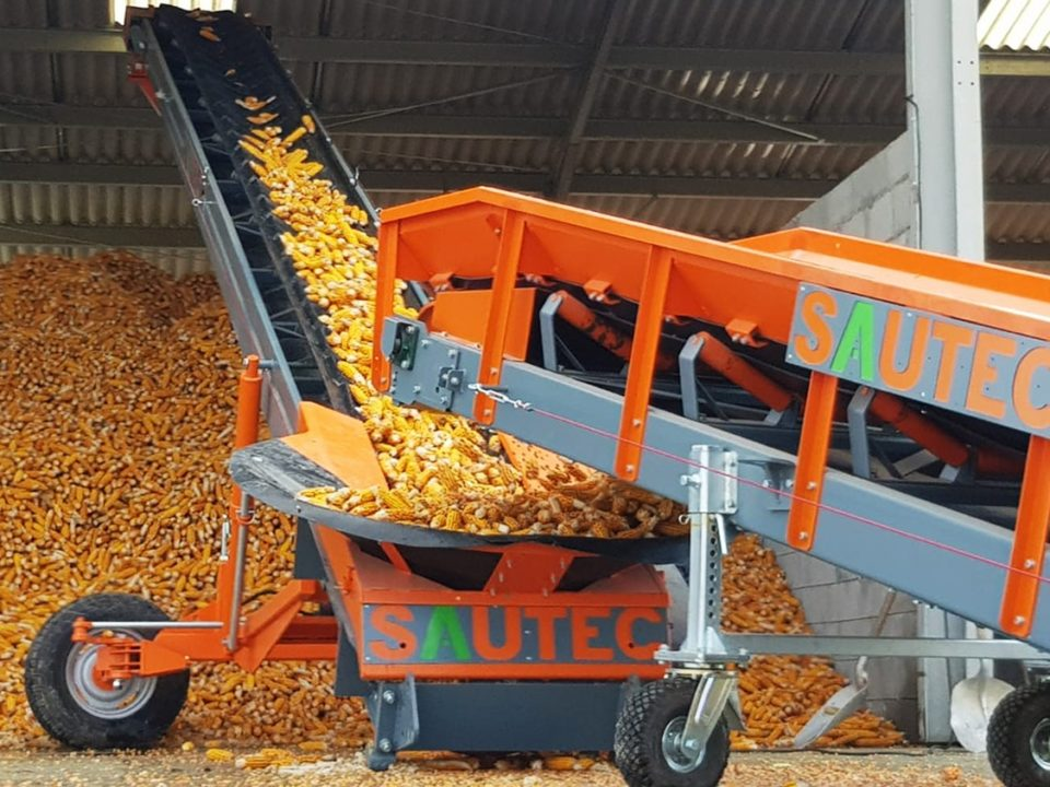 manutention et stokage maïs