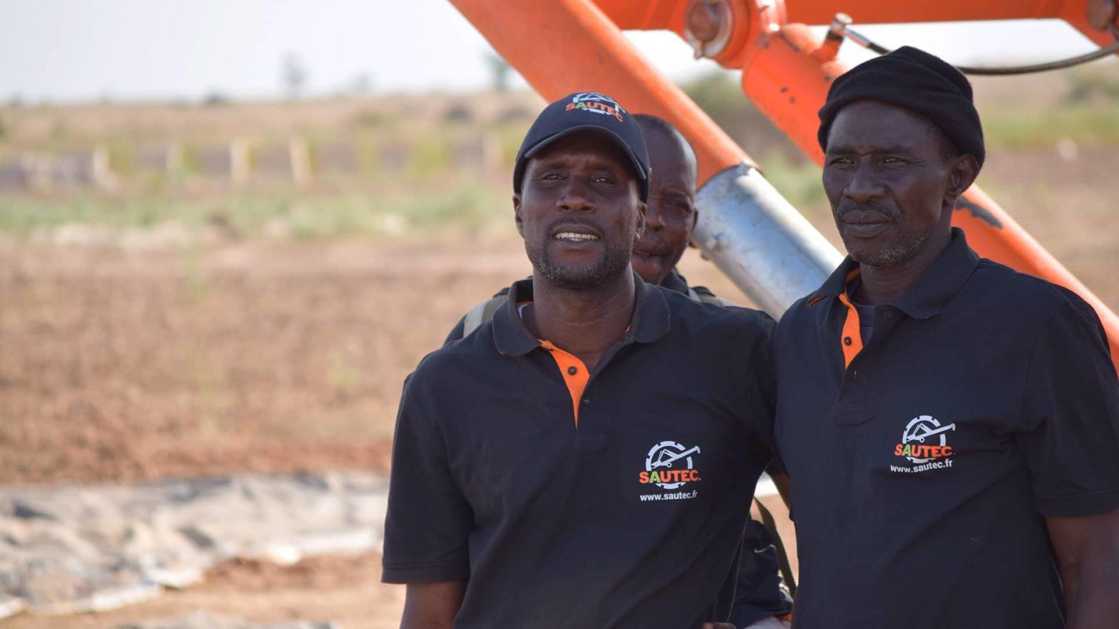 Equipe locale Sautec Sénégal