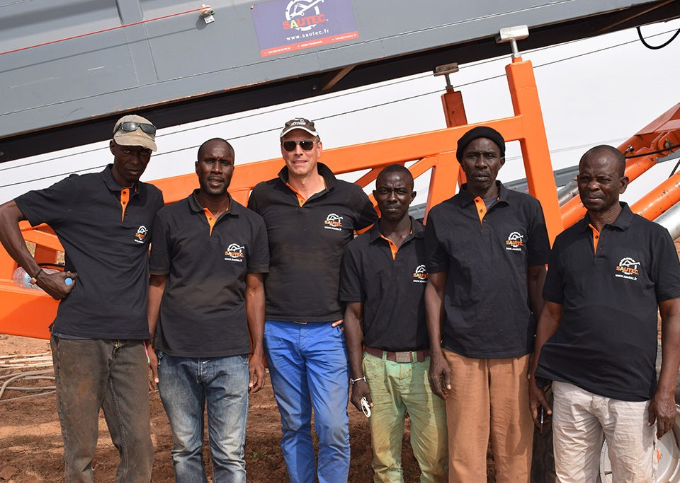 Equipe Afrique SAUTEC
